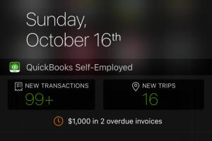 iOS 9 today widget